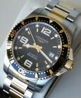 Longines Hydro Conquest 41mm Gold/Black Swiss Automatic Watch