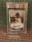 2013 Topps Chrome Anthony Rendon SEPIA REFRACTOR AUTO #'d 10 75 BGS 9 10