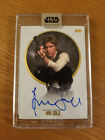 2017 Topps Star Wars Stellar Signatures Harrison Ford Han Solo Autograph 11 40