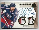 Rick Nash 2011-12 UD The Cup Honorable Numbers Patch Auto 22 61