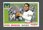 1955 Topps All American #12 Otto Graham Northwestern Cleveland Browns HOF