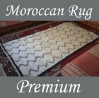 Beni Ourain Carpet Moroccan Rug Tribal Berber Original Checked Wool 9' 5 X 5' 1