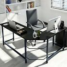Tribesigns Modern L-Shaped Desk Corner Computer Desk PC Latop Study Table Wor...