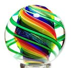 EDDIE SEESE ART GLASS MARBLES 1-15/16