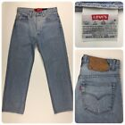 Vintage Levis 501xx Mens Button Fly Jeans Hemmed W29 L27 Button 552 Made In USA