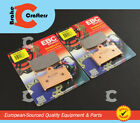 2003 - 2005 MZ 1000 S 1000S - FRONT EBC HH RATED SINTERED BRAKE PADS - 2 PAIRS