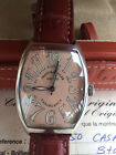 Franck Muller CASABLANCA  Stainless Steel Automatic Watch, Ref.6850, Salmon Dial