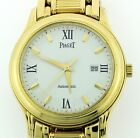 Gorgeous Vintage 18K Yellow Gold Gent's PIAGET Automatic Watch! Great Condition!