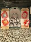 Sweet Sugarbelle cookie cutters Set Lot Nativity North Pole Symbols of Christmas