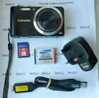 Samsung WB600 12.0 MP Digital Camera - Black + 8 GB Memory Card