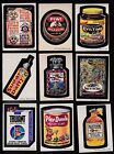 1974 Topps Wacky Packs Series 6 Complete Set w puzzle NM 33 33 Packages TRUANT