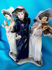 LLADRO Trio Young Street Musicians B-26-E #5306 Decorative Figurine With Violin
