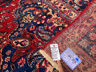 10x13 HAND KNOTTED PERSIAN RUG RUGS IRAN HANDMADE WOOL ANTIQUE red blue 9x12 ft