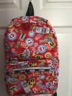 LeSportSac Nintendo Collection 2017 Essential Backpak In MARIO TRAVEL