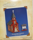 Hallmark - Hometown Church - Town and Country - Set of 2 - Keepsake Ornament