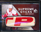 2010-11 SP GAME USED EDITION STEVE YZERMAN SUPREME STICKS 2 5 LOGO GU STICK RARE
