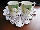 RS GERMANY Pair Chocolate Cups Gold Trim  3