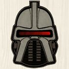 Battlestar Galactica Cylon Helmet Big Patch Lieutenant Starbuck 1978 Embroidered