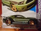 2013 Hot Wheels Super Treasure Hunt Green 2010 Ford Mustang Shelby GT500
