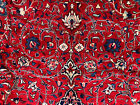 10x13 HAND KNOTTED PERSIAN RUG RED BLUE RUGS IRAN HANDMADE WOOL ANTIQUE 9x12 ft