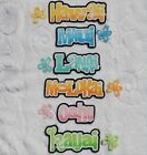 HAWAII Die Cut Title You Choose from 6 Different Scrapbook Page Paper Pieces