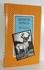 Season Songs by Ted Hughes Signed by author 1st 1985 Poetry Plath
