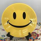 Fiestaware Smiley Face Lunch Plate Fiesta Sunflower Yellow 9 in Luncheon NWT