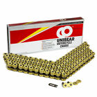 520 Gold Heavy Duty Motorcycle Chain 150 Links with 1 Connecting Link