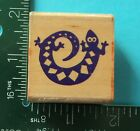 Rubber Stampede SPIRAL GECKO Rubber Stamp Lizard Pet