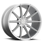 19 BLAQUE DIAMOND BD11 SILVER CONCAVE WHEELS RIMS FITS INFINITI M35 M45