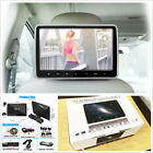 10 Car Headrest Monitor DVD Player USB SD HDMI FM Game Rear Seat Entertainment
