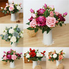 Small Silk Rose Bud Heads Artificial Fake Flower Wedding Party DecorationX1
