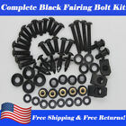 US Fairing Bolts Kit Screws Fit for 07 ZX6R 636 2003 2005-2009  EX250R 2008-2012