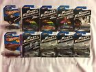Hot Wheels Fast and Furious 8 car set + 2 Car Bonus 2013