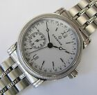 ETA 2836-2, automatic CANDINO small second at 8, hand date, NOS swiss made