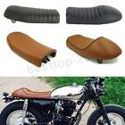 Universal Motorcycle Flat & Hump Saddle Cafe Racer Refit Vintage Seat Cushion US