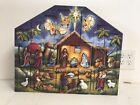 Byers Choice Wooden Nativity Advent Calendar AC05