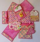 MOTHERS DAY Premade Scrapbook Page Mat Set sewn