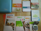 Weight Watchers Points Plus 360 Member Kit w Books Tracker Calculator Case