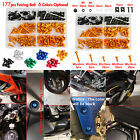 Universal Fairing Bolts Kit Fastener Clip Screw Motorcycle for Sport Street Bike