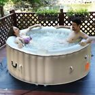 Large Outdoor Inflatable Camping Jacuzzi Hot Tub Bubble Spa 6 Person Blow Up Kit