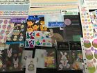 LOT OF 46 SCRAPBOOKING EASTER STICKERS BORDERS