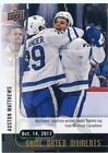 2017-18 Upper Deck Game Dated Moments Hockey Cards 12