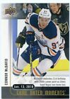 2017-18 Upper Deck Game Dated Moments Hockey Cards 13
