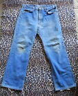70s Vintage LEVIS 517 Hige Fade Jeans Pants 36 x 28 Made In USA