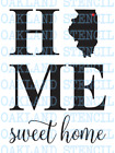 HOME STENCIL Sweet home You pick the State for Painting Signs Wood Walls