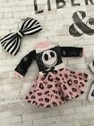 Blythe Set Jack Skelling Outfit By Dolly Molly Gothic Takara Doll Pure Neemo