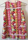 Lilly Pulitzer Girls Shift Dress Pink Red Floral 5 SPRING Easter Wedding Bright