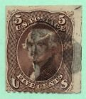 76 Early US Stamp Fancy Cancel Faults