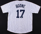 Aaron Boone Signed New York Yankees Pinstriped Jersey (JSA) New Yankee Manager